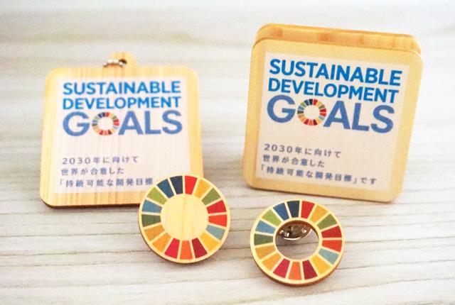 SDGs,ピンバッジ,SDGs普及グッズ