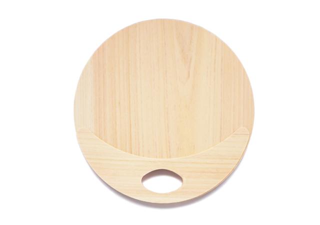 木製うちわ
